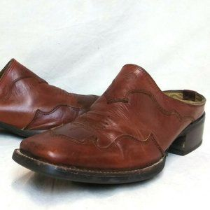 Ariat Tabitha Leather Square Toe Booties
